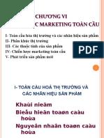 Chương 6 Chiến Lược Marketing Toàn Cầu