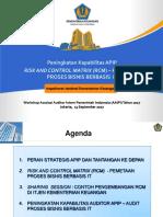1. Perencanaan Audit Berbasis Risiko Dan Pendekatan Risk Control Matrix - RCM (Arief Ismail)