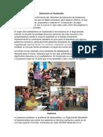 Educación en Guatemala