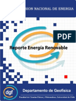 Reporte Energía Renovable - Chile