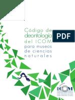 21. Código de Deontología Del ICOM Para Museos de Ciencias Naturales, 2013