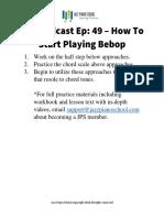 Bebop - Ep+49+Practice+Guide