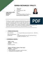 Pamela Andrea Retamozo Tipacti