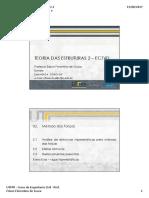 EC76D TE2 - 02.1 Método Das Forças - Metodologia e Aplicação Em Vigas Hiperestáticas Arquivo