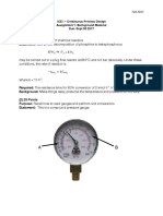 Continuous Process Design