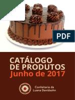 Catalogo Confeitaria Da Luana