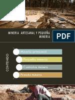 legislacion GRUPO 5 - mineria artesanal , pequeña mineria y contratas mineras.pptx