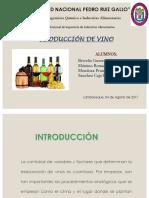 Produccion de Vino