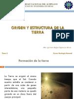 Clase 2 Origen de la tierra, estructura interna de la tierra.pdf