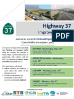 SR 37 Open House Flyer