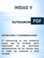 Unidad v Outsourcing2