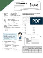 Daily Exam Grade 7 Kur13_code A