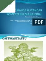 Bahan Sosialisasi Standar Kompetensi Manajerial Pemerintah Kota Denpasar