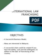 International Law-franchising (1)