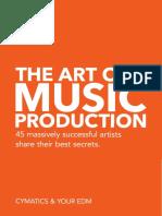 Cymatics & Your EDM - The Art of Music Production