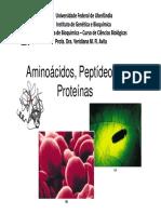 Microsoft PowerPoint - Aula 3 Aminoácidos, Peptídeos e Proteínas [Modo de Compatibilidade]