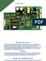 GE Electronic Refrigerator AC Diagnostics Manual