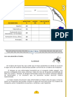 EVALUACIÓN DIAGNOSTICA 3°
