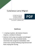Cutaneous Larva Migran
