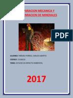 Preparacion Mecanica y Concenracion de Minerales 1 (1)