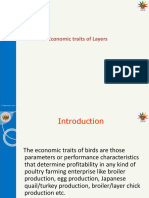 Theory-5 Economic Traits of Layers