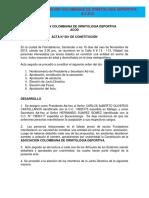 Acta Constitucion ACOD