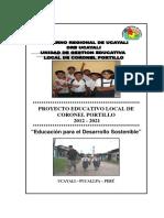 PEL UGEL CP - 2012 - 2021