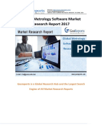 Global Metrology Software Market Research Report 2017