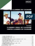 CHANTS DES LLANEROS DU CASANAR