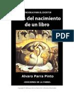 Fases Del Nacimiento de Un Libro ÁlvaroParraPinto