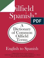 Oilfield English Spanish Dictionary