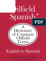 Oilfield English Spanish Dictionary