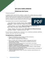 Orientacion Didactica de Hist. Soc. de Hist. Dom.