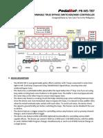 Pb m5 Tb7 Manual