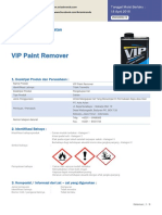 MSDS_VIP Paint Remover