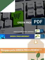 Green Procurement - GBCI