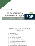 Programación Orientada a Objetos Con Java - NetBeans