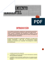 Modelamiento Ambiental - II