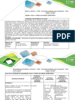 Guia de Actividades y Rubrica de Evaluación - Paso 4- Matriz de Trabajo Colaborativo