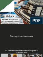 Raymond Williams y La Definición de La Cultura