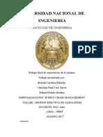 Proyecto de Mejora-Exportación de La Quinua