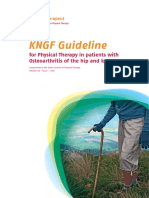 Dutch Osteoarthritis of the Hip and Knee Physiotherapy Guidelines