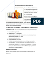 Manuales y Procedimientos Administrativos Cmplt