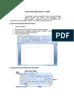 1.2 Dasar-dasar Ms Word_dasar-dasar Pengertian Dan Editing