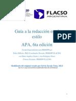 Manual de Estilo Apa 6ta Edicic3b3n