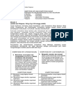 Format KI-KD Mata Pelajaran