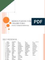 3.5 Corpus Chamicuro