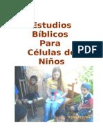 Estudios Biblicos Para Celulas de Ninos - Modulo 3