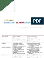 Emergency Wound Management