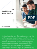 10 Things Your CIO Should Know About DevOps